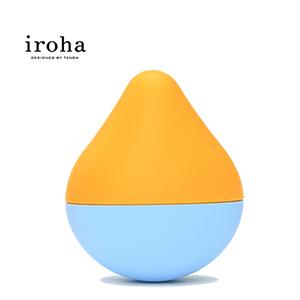 日本TENGA iroha HMM-03 無線震動按摩器迷你版-海藍甜橙