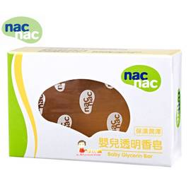 *babygo*Nac Nac透明香皂【75g】