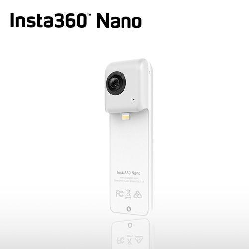 新品上市【送32G卡】Insta360 360°全景相機 INSTA 360 Nano 全景攝影機 VR相機 魚眼鏡頭 3K高畫質 iPhone專用