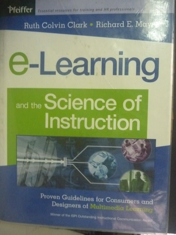 【書寶二手書T9/電腦_ZHB】E-Learning and the Science of Instruction