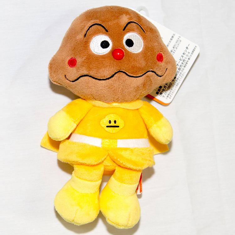咖哩麵包超人 絨布玩偶 正版商品 日本帶回