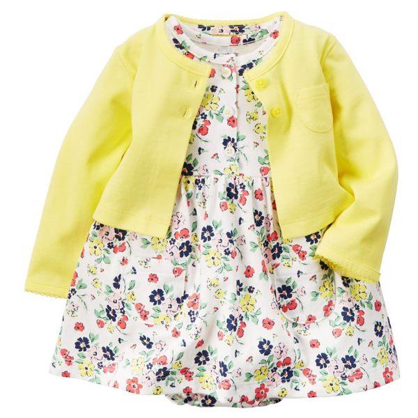 長袖套裝 短袖裙兔裝+小外套二件式套裝 LZ12122