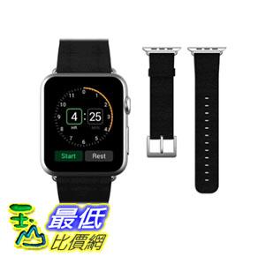 [104美國直購] JETech 錶帶 38mm Genuine Leather Strap Wrist Band for Apple Watch 黑紅粉三色 $1198