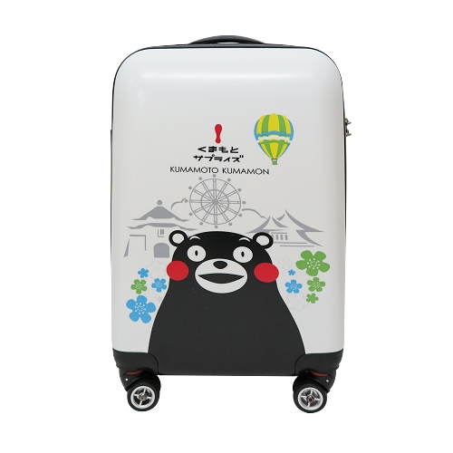 【SunEasy生活館】熊本熊 Kumamon 超輕硬殼PC/ABS行李箱登機箱 20吋(飛機輪)