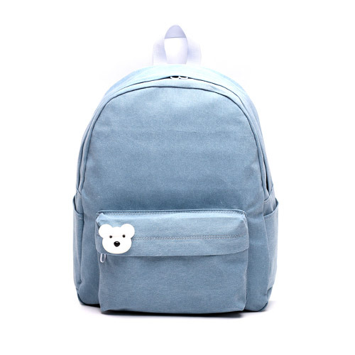 後背包 韓國品牌AFRICA RIKIKO 水洗布後背包 NO.126 스카이블루(Skyblue) - 包包阿者西