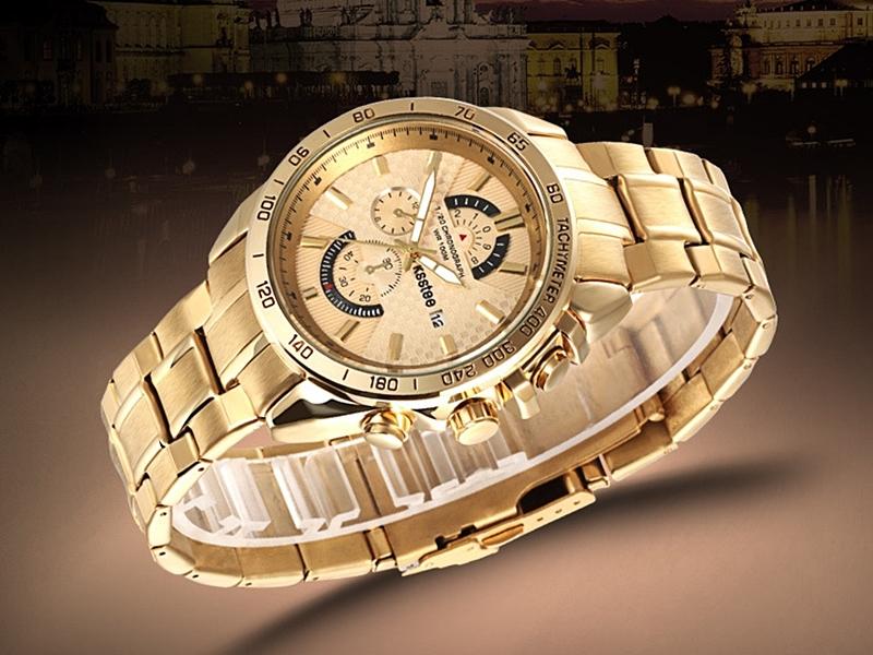 《316小舖》【PK12】(優質不銹鋼石英手錶-30米防水手錶(可洗澡)-單件價 /送禮推薦女錶/人氣熱賣商品手錶)