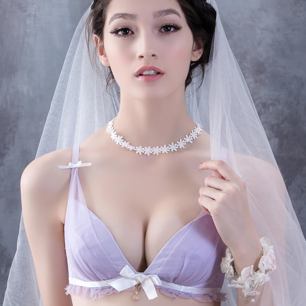 On Street 峰夢幻70B-85F罩杯成套內衣(紫色)