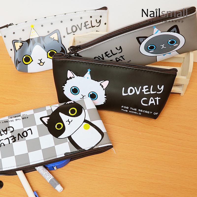 可愛貓咪筆袋 俏皮文創用品