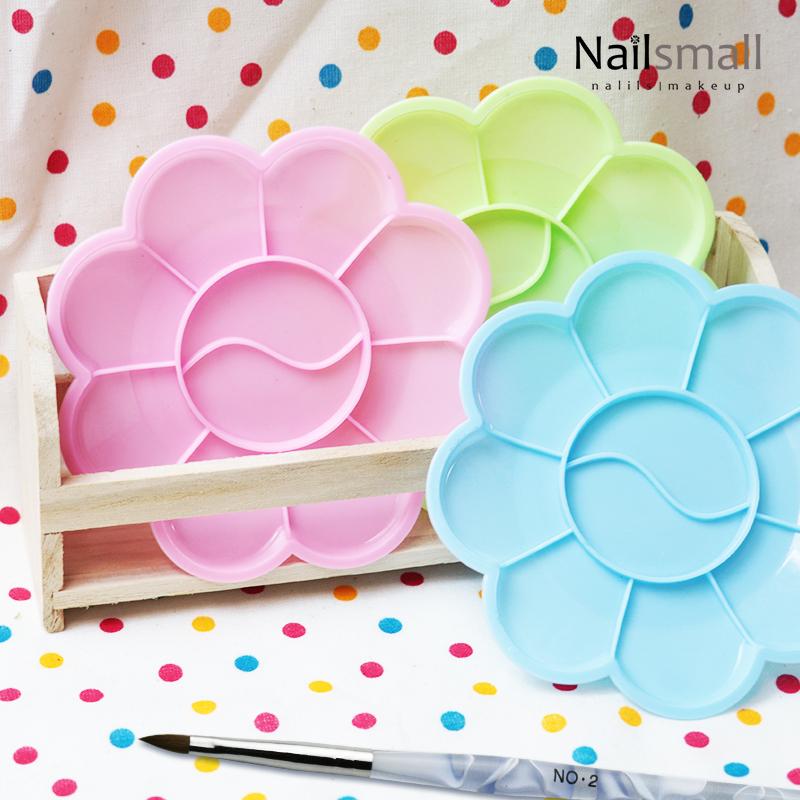 彩繪梅花調色盤(隨機出色)  多用途美甲調色盤