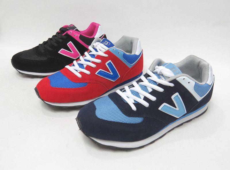 ☆多功能鞋帶運動休閒慢跑鞋12-68021(紅/黑/藍)☆【彩虹屋】現+預