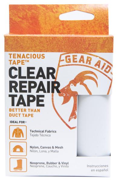 McNETT Gear Aid 透明修補貼片/膠帶補丁 羽絨衣破洞/修帳篷/登山裝備維修 Tenacious Tape 10691