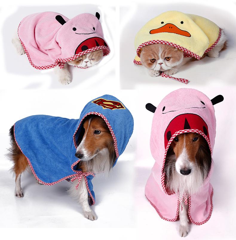 寵物毛巾卡通寵物浴巾 狗狗浴巾 貓洗澡用品 多功能超強吸水浴巾毯子