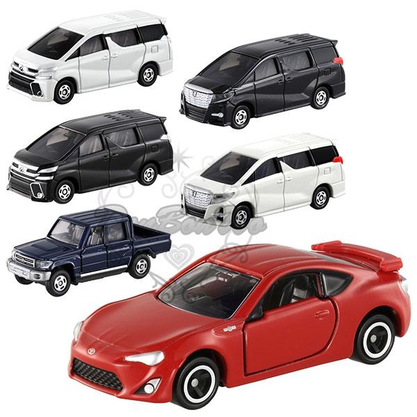 多美TOMY合金小汽車模型TOYOTA豐田車款休旅車小卡車跑車廂型車824862海渡