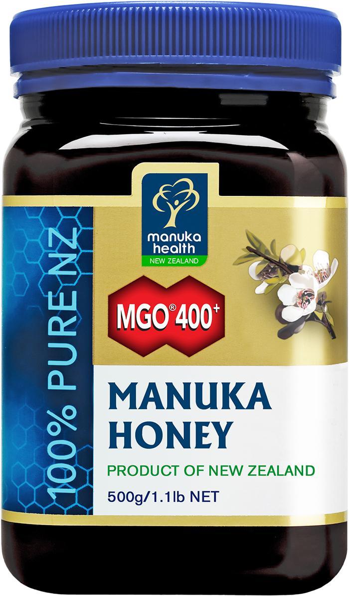 【生活薈CrownLife】《Manuka Health》麥蘆卡蜂蜜 MGO™400+ (500g)