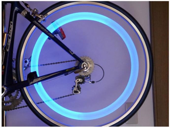 LED車輪燈(一組2入顏色隨機出貨)