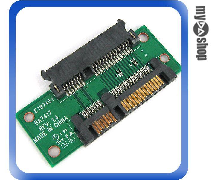 《DA量販店A》SATA 含電源 公座 TO SATA 含電源 母座 轉接卡/介面卡 (12-274)