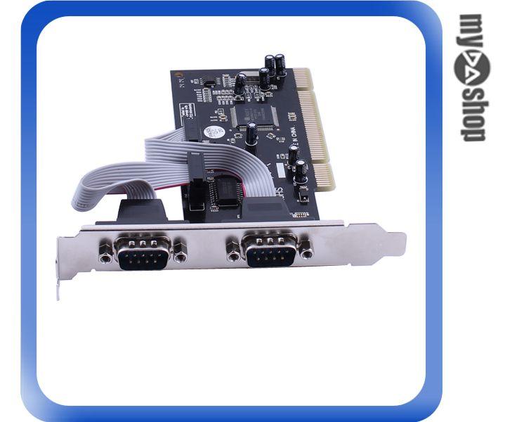 《DA量販店A》全新 PCI 介面 COM / RS-232 / 串口 2 port / 埠 擴充卡 (20-035)