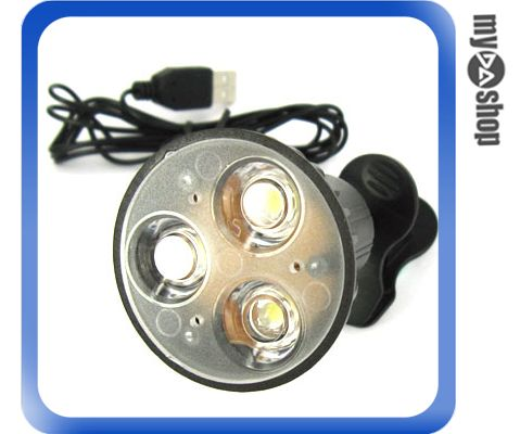 《DA量販店》超高亮度USB 3 LED燈/護眼燈 夾式 USB線 精選禮物(20-1397)