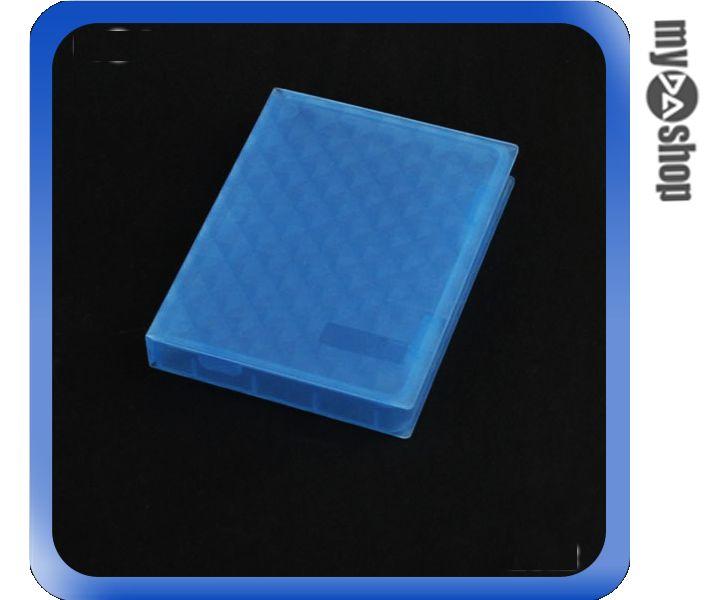《DA量販店》全新 藍色 2.5吋 硬碟 保護盒 收納盒 防塵 防潮濕 防靜電 (20-2046)