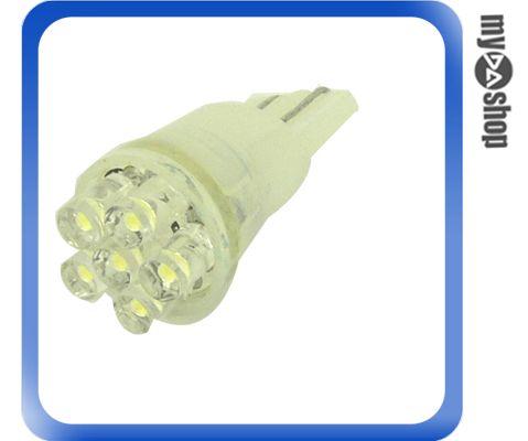 《DA量販店H》超高亮度 T10 小炸彈 6 LED 白光 平頭 散光 2入 方向燈 霧燈 (21-096)