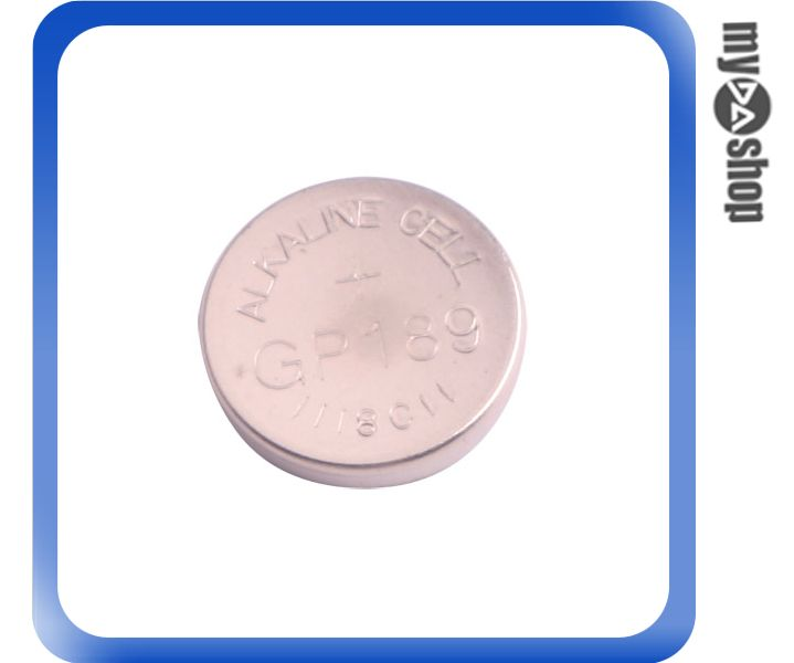 《DA量販店》GP189/LR54  1.5V 鹼性 水銀 鈕扣 電池 10顆  (24-040)