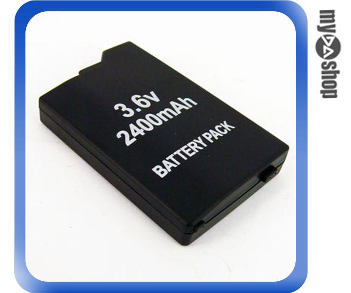 《DA量販店》全新 PSP-2000 2007 專用 3.6V 2400mAh 鋰電池 無記憶電量 (28-338)