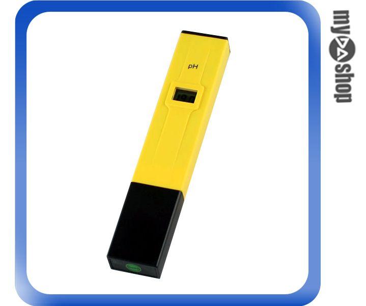 《DA量販店》電子式 PH 酸鹼 測試筆 酸度筆 酸度計 水質檢測器 (34-1109)