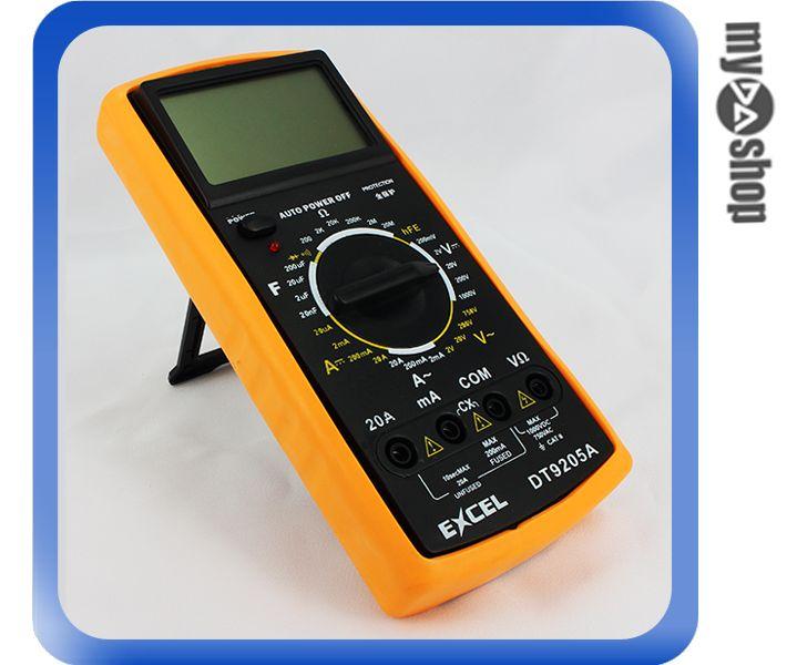 《DA量販店A》數位顯示 多功能三用電表/電錶 直/交流電壓、電流、電阻 (34-500)
