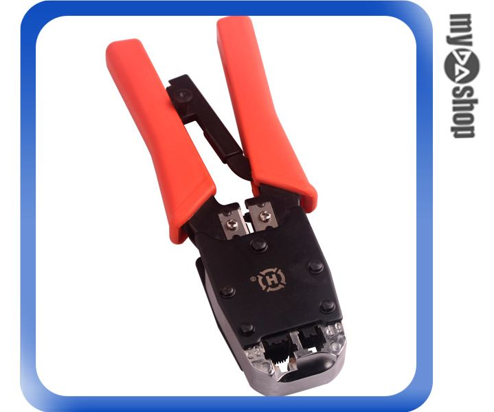 《DA量販店A》全新 電腦 電話 RJ45 RJ11 接頭 夾線鉗 壓線器6/8P (34-515)