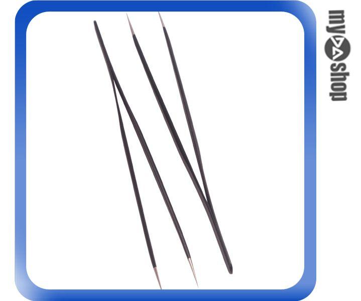 《DA量販店》二支 全新 防靜電鑷子 金屬材質 防觸電 尖嘴 (34-728)