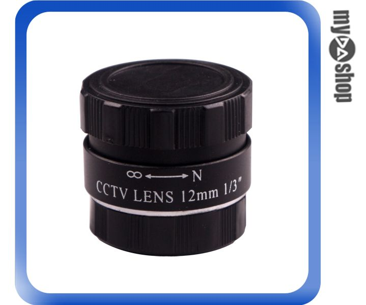 《DA量販店》保全 防盜 監視 攝影機專用 CCTV LENS 固定光圈 12mm / F1.2鏡頭(36-720)