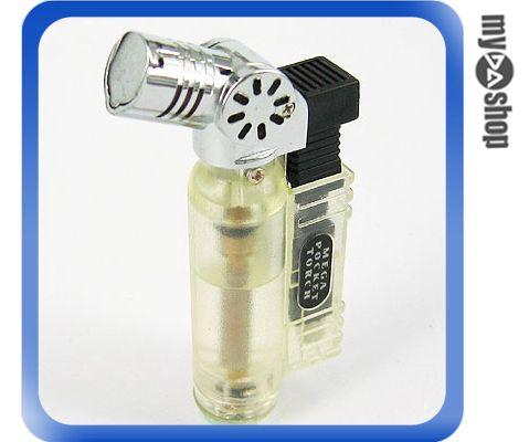 《DA量販店》全新 藍火 防風 噴槍式 造型 電子式點火 可填充  打火機  (37-475)