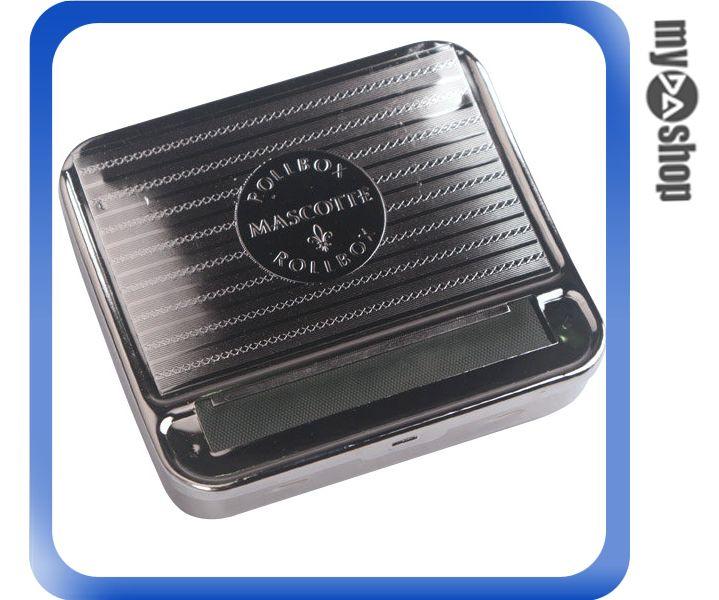 《DA量販店》全新 金屬 攜帶式 自動 盒式 捲菸器 捲菸機(37-774)