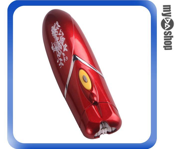 《DA量販店》全新 電動 LED燈 拔毛器 脫毛器 附刷子 舒適 安全 (59-206)