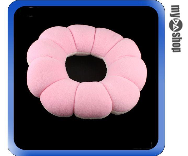 《DA量販店》日式 甜甜圈 抱枕 坐墊 靠枕 護頸 護腰 顏色隨機(59-834)