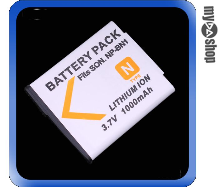 《DA量販店》SONY NP-BN1 鋰電池 3.7V 1000mah 適用T99/TX9/TX7C/TX5/WX5C等(77-070)