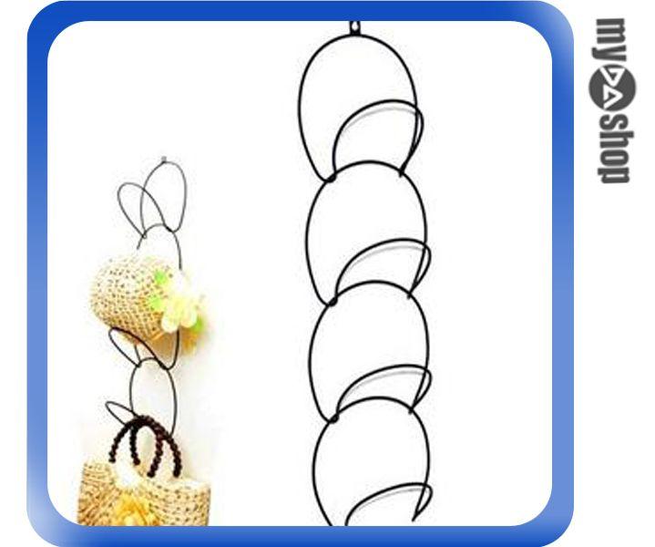 《DA量販店》連環 衣帽架 掛帽架 吊帽架 家庭擺設 收納 輕巧方便又時尚(77-334)