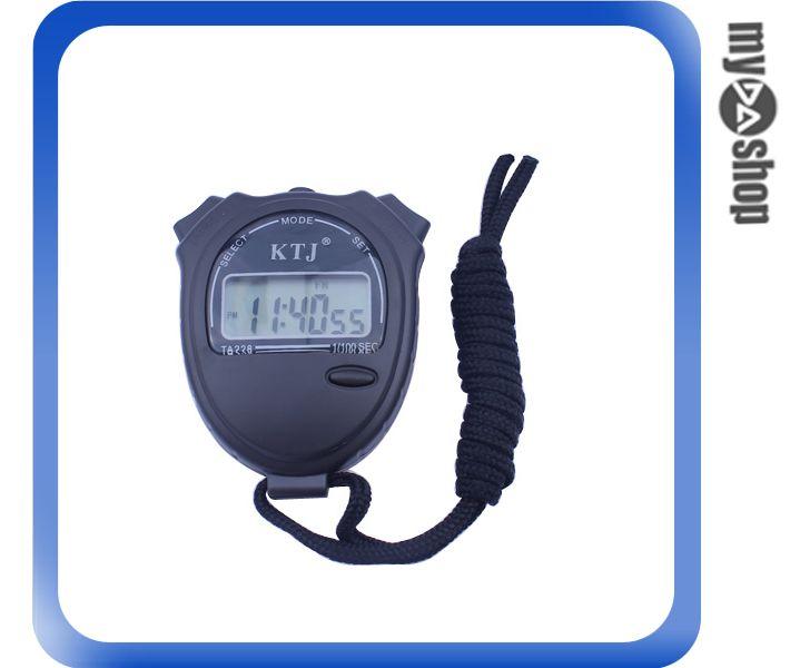 《DA量販店》電子碼表 計時器 運動秒表 電子秒錶 整點報時(78-1105)