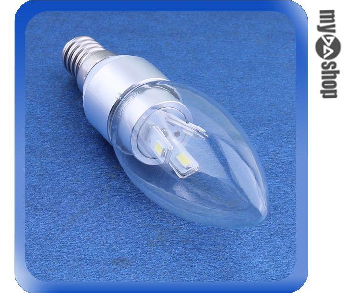 《DA量販店》E14 2W LED 燈泡 LED燈 節能燈 省電燈泡 85-265V 暖白(78-2879)