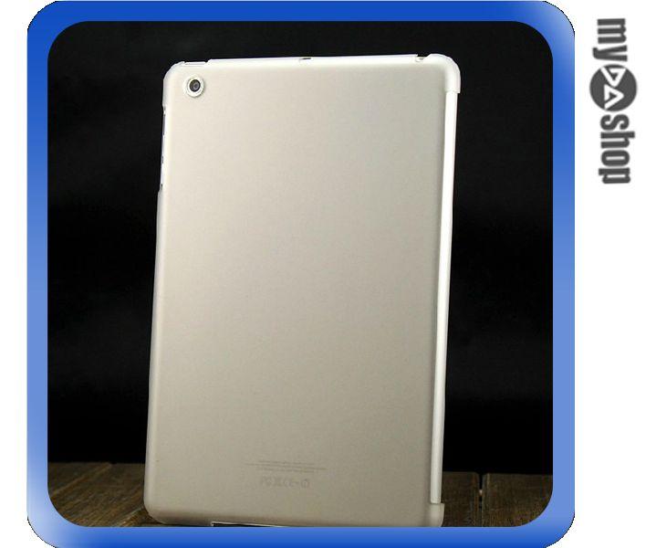 《DA量販店》ipad mini 透明 磨砂 背蓋 保護殼 保護套 透明白(78-4282)