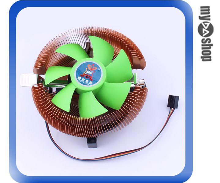 《DA量販店》電腦 周邊 主機 散熱 雙平台 CPU 風扇 4PIN電源 含油軸承(79-2547)