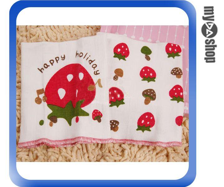《DA量販店》寶寶肚圍 雙層護肚 護臍帶 肚兜 加倍呵護 5款可選 草莓(79-2953)