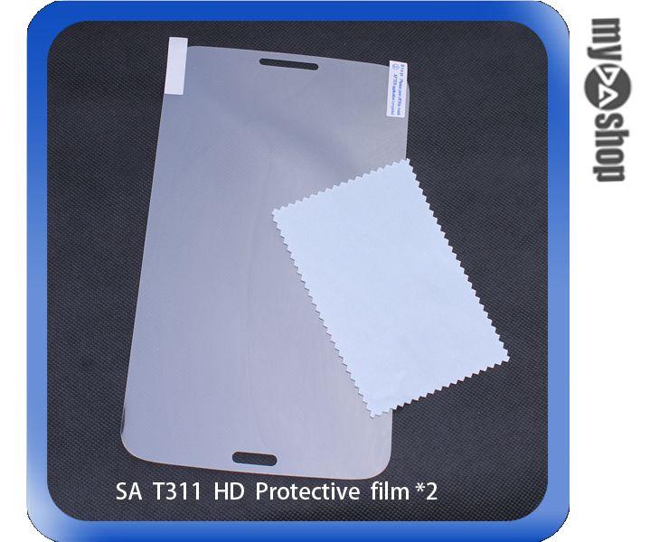 《DA量販店》三星 Samsung GALAXY Tab3 8.0 T311 亮面 螢幕 保護貼 一組兩入(79-3198)