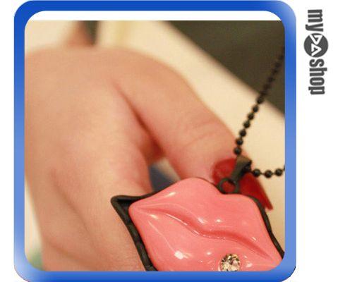 《DA量販店》韓版 卡通 性感嘴唇 情人節 首飾 項鍊 毛衣鍊 (79-4293)