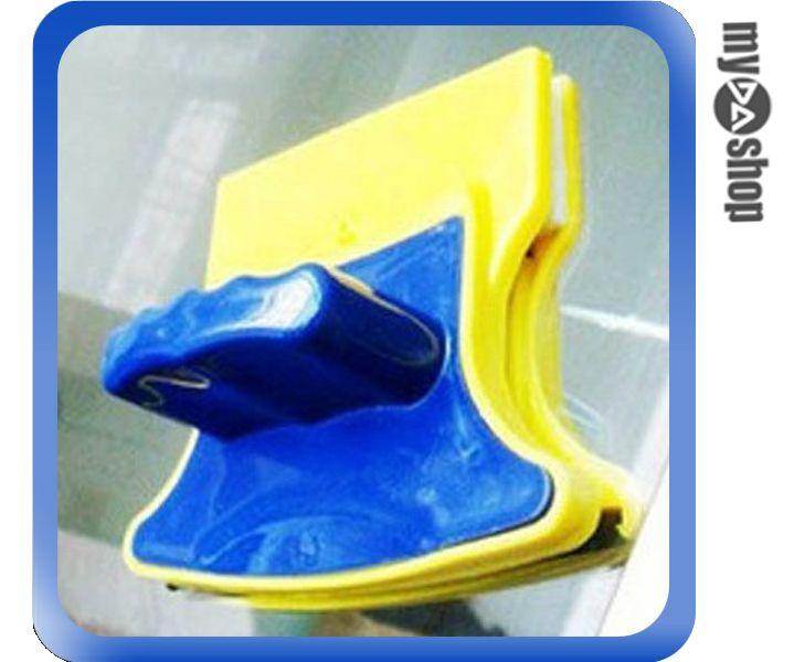 《DA量販店》居家 生活 清潔 雙面 玻璃 擦窗器 清潔器 魚缸 水族箱 擋風玻璃(79-4976)