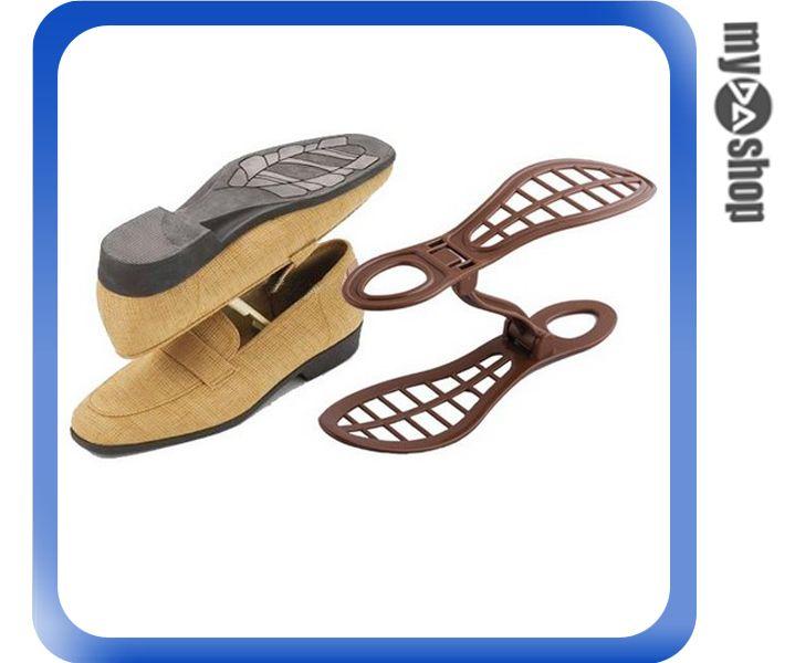 《DA量販店》居家 雙倍 收納 鞋架 省空間 三段式 可調整 適用22-28cm鞋子(79-5105)