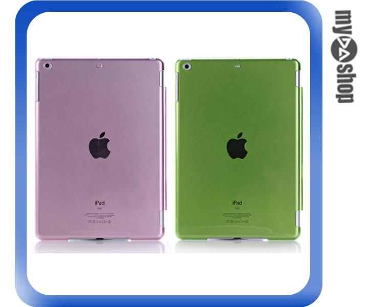 《DA量販店》APPLE ipad air 透明 背蓋 保護殼 保護套 顏色隨機 兩入一組(79-6096)
