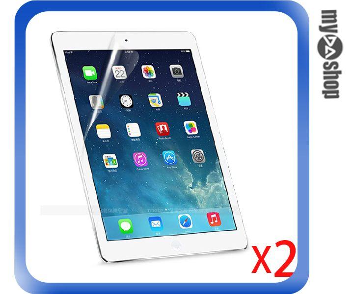 《DA量販店》兩入一組 蘋果 APPLE 保護貼 保護膜 ipad air 透明 亮面 防指紋(79-6417)