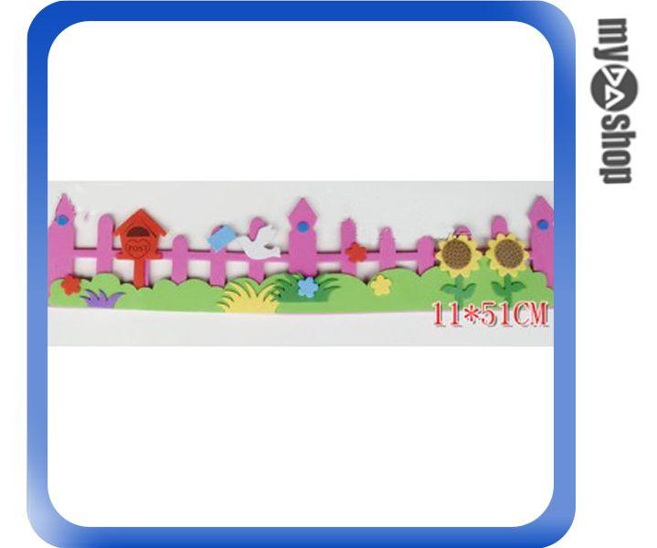 《DA量販店》教室 學校 布告欄 布置 飾品 立體 柵欄 小花 鴿子 信箱(79-6781)