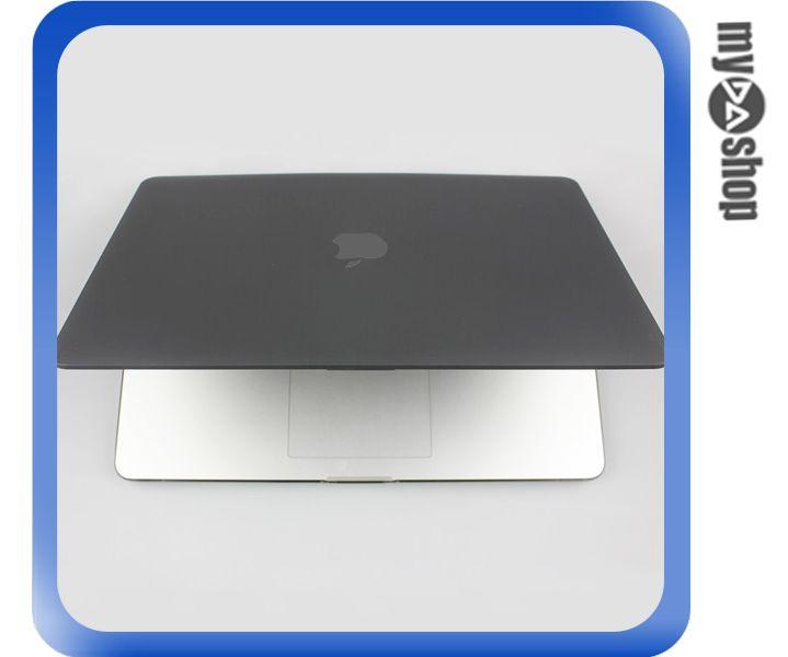 《DA量販店》MACBOOK PRO 13.3吋 磨砂 保護殼 外殼 黑 適用 光碟機版本(79-7045)